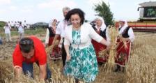 Министър Танева: През тази година има увеличение на площите със зърнено-житни култури