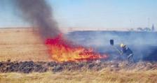 8 пожара заради запалени стърнища