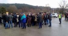 Протест в дупнишкото с. Джерман срещу изграждането на депо за преработка на отпадъци