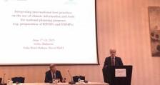 Министър Димов откри форум за добри практики при използване на климатичните данни